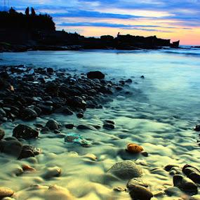 Negeri Impian by I Gusti Putu Purnama Jaya - Landscapes Waterscapes