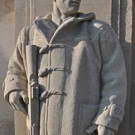 Soldier Statue  by Dylan Tanner - Buildings & Architecture Statues & Monuments