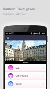 Nantes: Offline travel guide - screenshot
