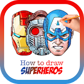 Download How To Draw SuperHeroes APK on PC