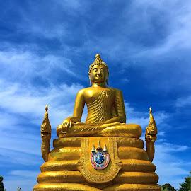 Buddha by Thibavel Selvarajoo - Buildings & Architecture Statues & Monuments ( statue, thailand, tourism, phuket, buddha )