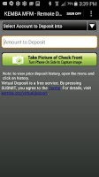 Screenshot of KEMBA's Mobile Banking