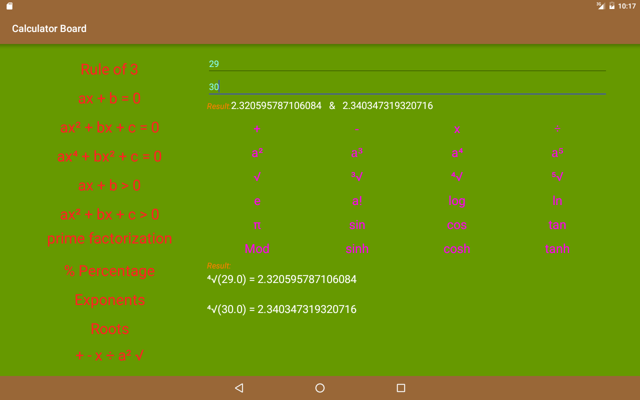Calculator Board Screenshot 8