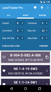 LandTracker Pro LSD Finder - screenshot