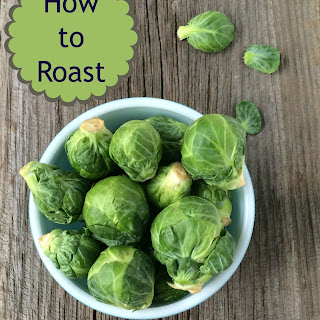 Roasted Brussels Sprouts with Basil Pesto