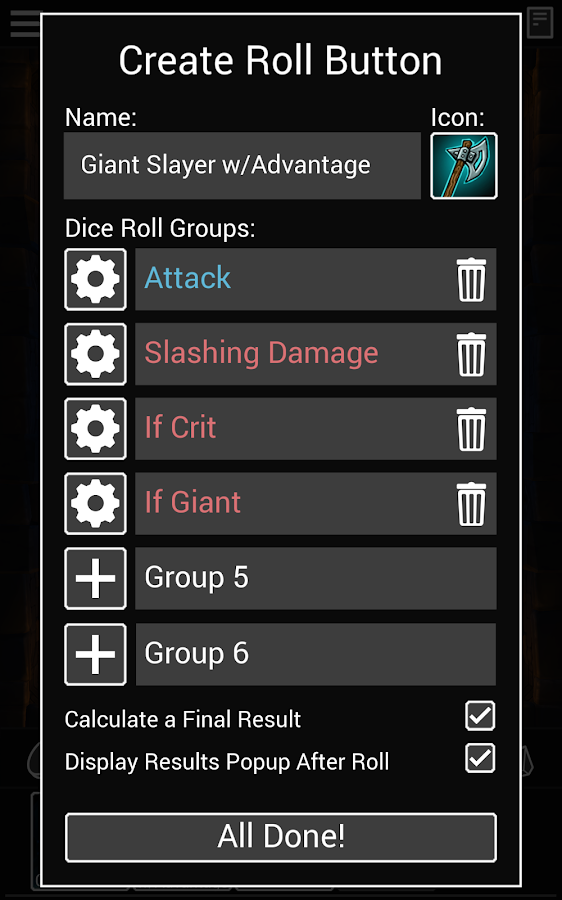 Dice To Go: Tabletop RPG Roller Screenshot 12