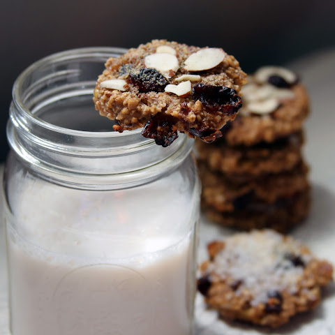 Sweet Steel Cut Oat Cookies