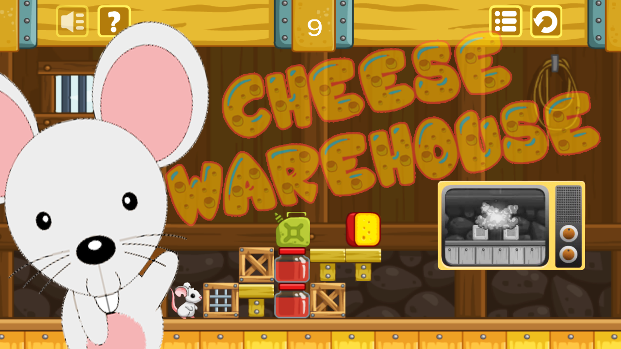 Cheese warehouse – Find cheese Screenshot 1