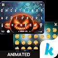 App HalloweenNight Motion Kika APK for Kindle