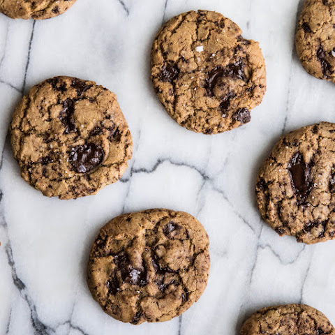 Chocolate Chunk Coconut Oil Cookies