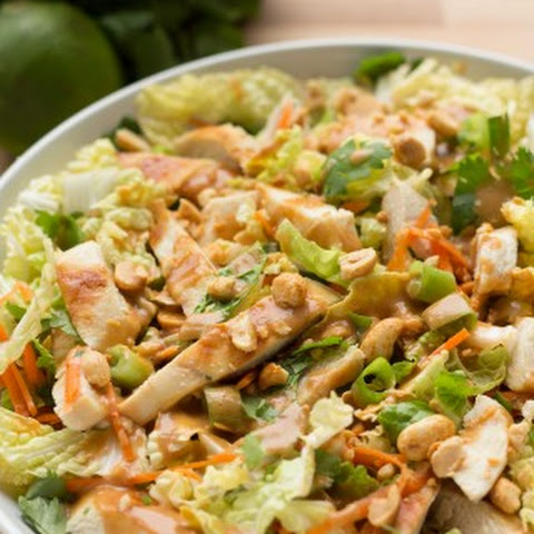 Grilled Chicken Thai Salad