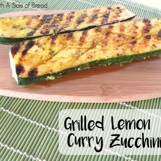 GRILLED LEMON CURRY ZUCCHINI
