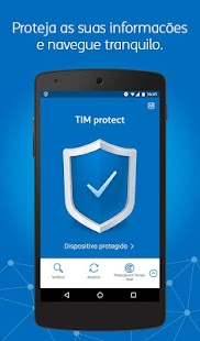 App TIM protect segurança APK for Windows Phone