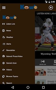 App KOWB Radio - Laramie APK for Kindle