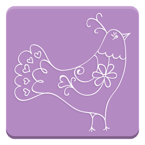 Cover art Sticker Set: Fine Birds