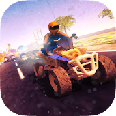 Download  Quad Bike Bandit vs Cop Racing  Apk