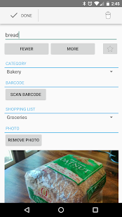 Our Groceries Shopping List APK for Bluestacks