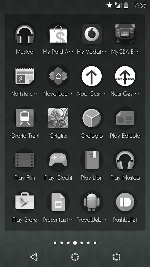 Transparent Black - CM13 Theme Screenshot 4