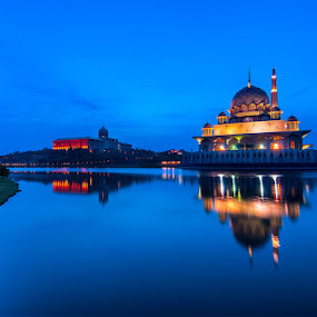 Sunrise Masjid Putra by Nazeri Mamat - Landscapes Sunsets & Sunrises