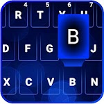 Dark Blue Emoji Keyboard 1.3 Apk