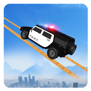 Impossible Police Jeep Stunts For PC / Windows 7/8/10 / Mac – Free Download