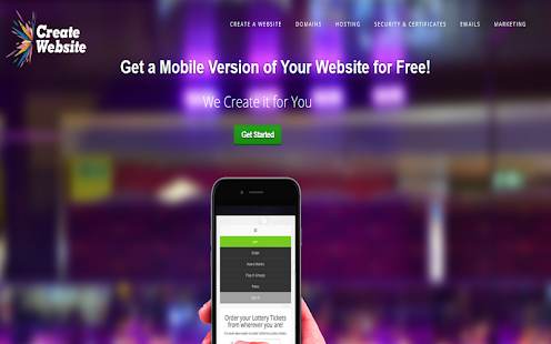 how to create an android app for my website