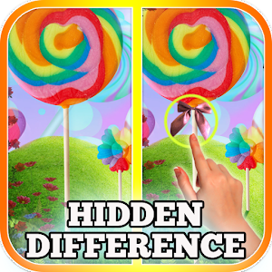 Find Differences Candy World