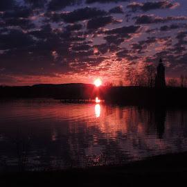 ny sunrise by Karrie Martell - Landscapes Sunsets & Sunrises