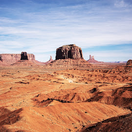 Ford Overlook by Richard Michael Lingo - Landscapes Travel ( monument valley, utah, valley, travel, landscape )
