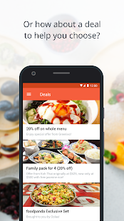 App foodpanda - Food Delivery APK for Windows Phone