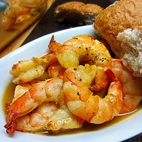 Sweet Citrus Baked Shrimp