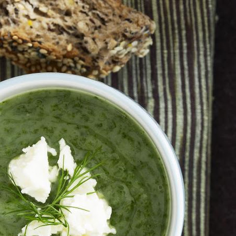 Creamy Spinach and Potato Soup
