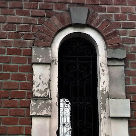 windows of hope by Miroslav Bičanić - Buildings & Architecture Places of Worship ( grid, bricks, windows, graveyard, hope )