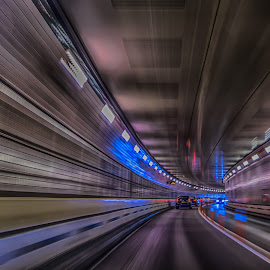 Back to the future! by Emil A - Transportation Roads ( d810, midtown tunnel, emil, new york, nyc )