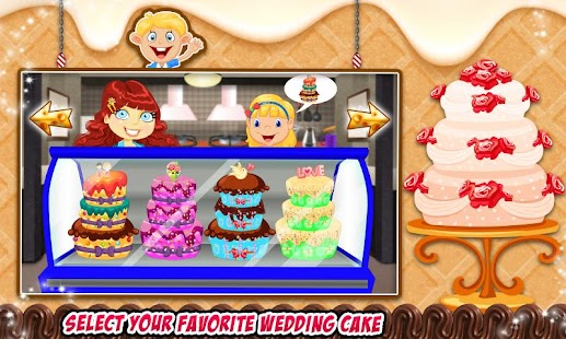 Game Wedding Party Cake Factory apk for kindle fire
