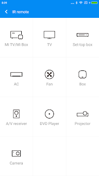 Mi Remote Controller For TV/AC APK screenshot thumbnail 1