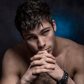 Josh by Angi Wallace - People Portraits of Men ( model, masculine, male, handsome, man )