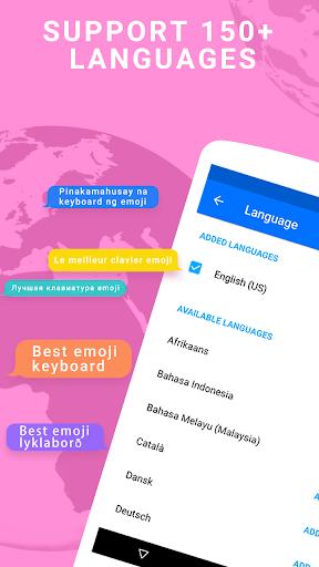 Emoji keyboard - Cute Emoticons, GIF, Stickers screenshot 7