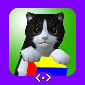 AR Kitten for Merge Cube For PC