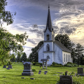 Valley Grove Lutheran Church, Nerstrand, Minnesota by Peter Stratmoen - Buildings & Architecture Places of Worship ( minnesota, church, cemetery, historic site, lutheran,  )