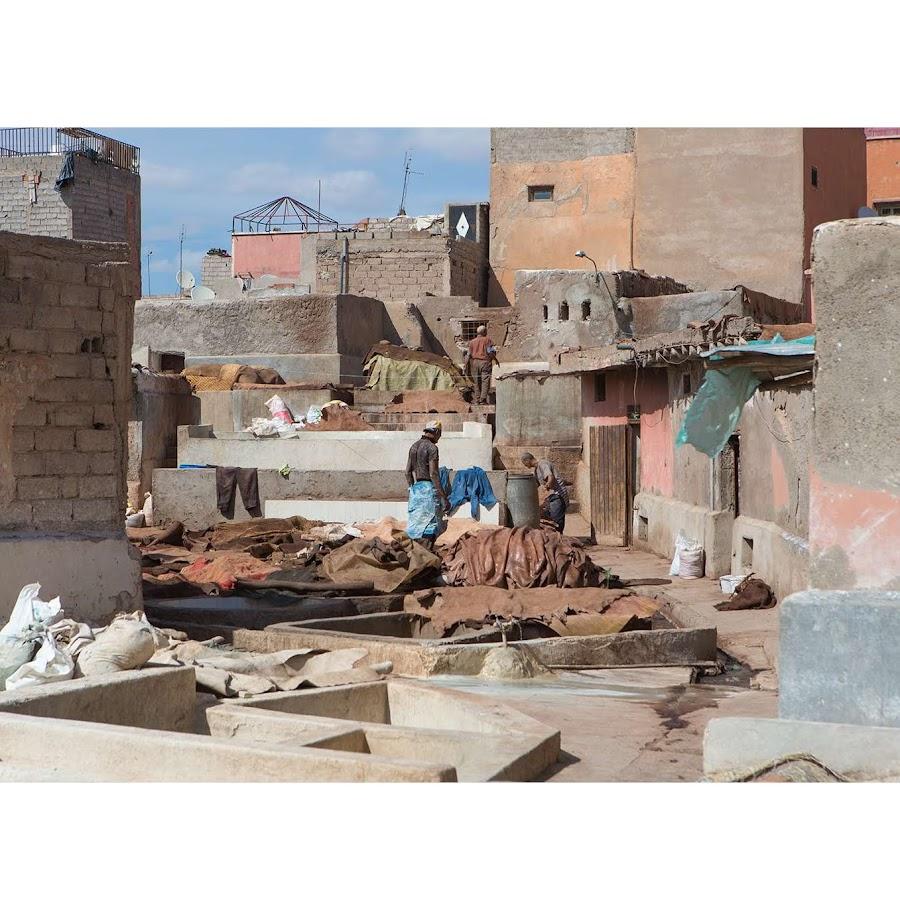 Michele Cirillo, Marrakech 1, Tannery Berber