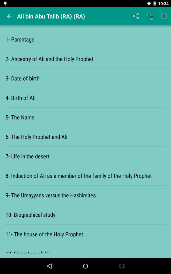 Stories of Sahaba Screenshot 13