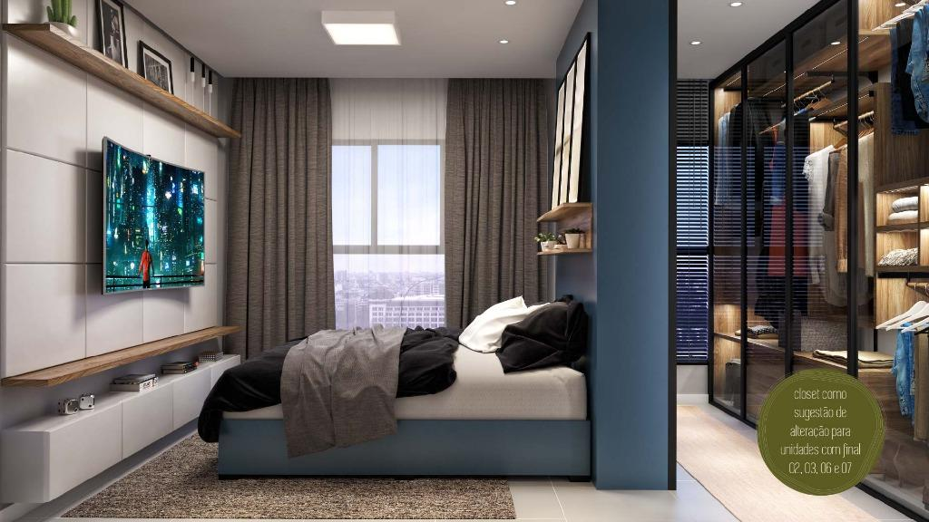 Apartamento com 2 dormitórios à venda, 48 m² por R$ 167.900 - Centro - Araucária/PR