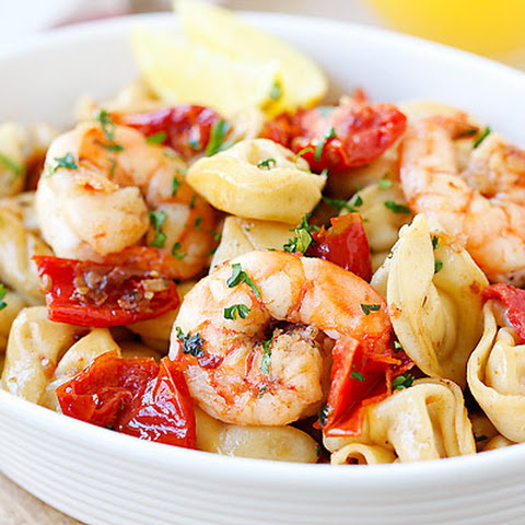 Garlic Shrimp Tortellini