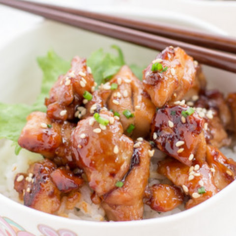The best Teriyaki Chicken