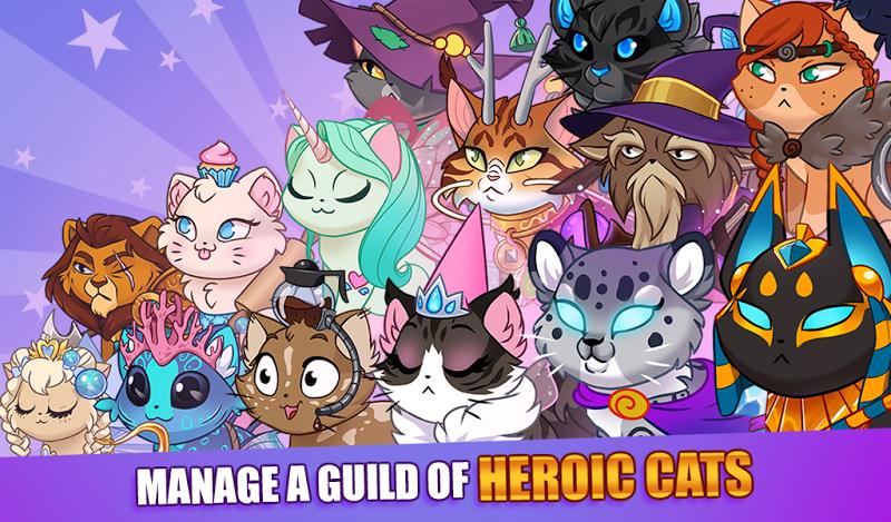 Castle Cats:  Idle Hero RPG Screenshot 4