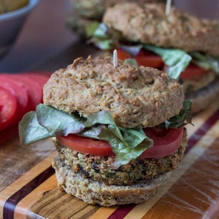Quinoa-Eggplant Burgers Recipe | Yummly