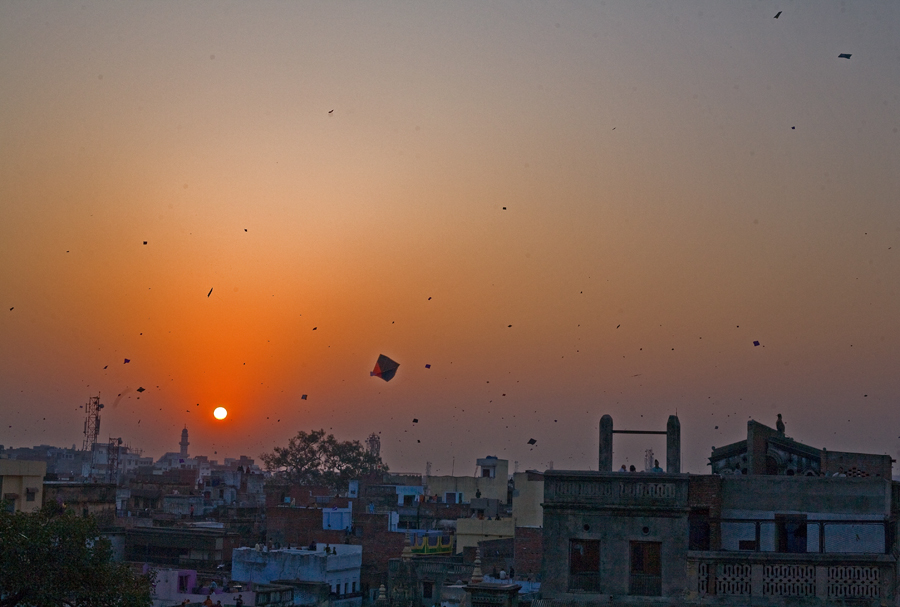 makar sankranti,the kite festival in varanasi by Santosh Pandey - News & Events Entertainment