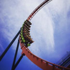 Rougaru #IHeartCP by Ryan Niemiec - Instagram & Mobile iPhone ( rougaru, amusement park, loop, cedar point, roller coaster )