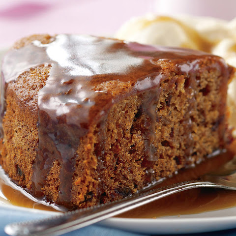 Gluten-Free Date Cake with Caramel Sauce